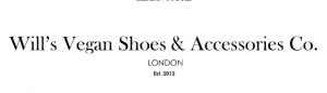 Will's Vegan Shoes voucher code